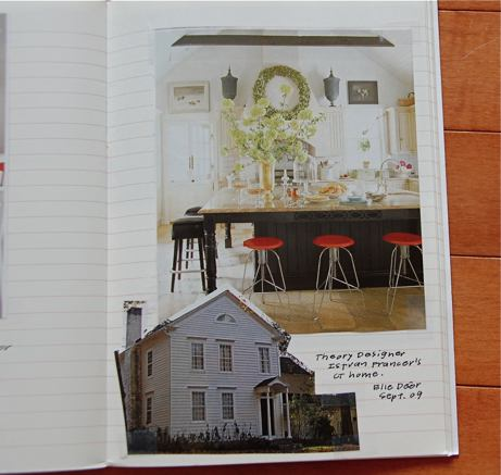 Inspiration Notebook Courtasy of Simple + Pretty (link on the left)