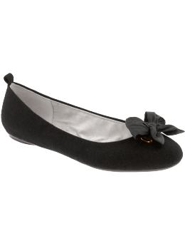 simple bow-tied flats at gap | simple pretty