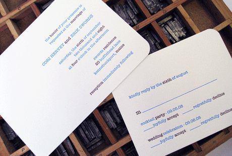 albertine press 'typewriter' invitation   simple pretty