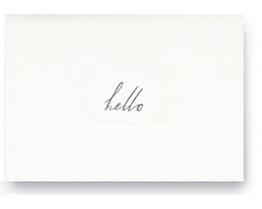 follow studio hello card | simple pretty