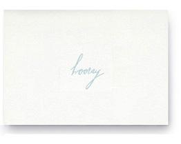 follow studio hooray card | simple pretty