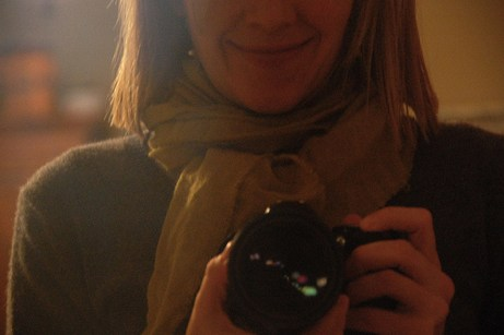 jane with camera: happy thanksgiving   simple pretty