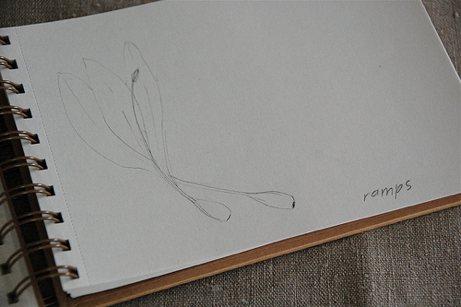 ramps sketch in pencil | simple pretty