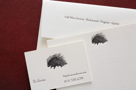 pocket creative porcupine cards | simple pretty