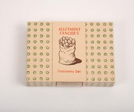 allotment fancier's stationery set | simple pretty