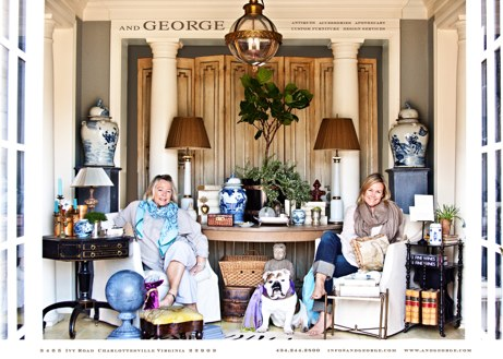 mother, daughter, and george of and george | simple pretty
