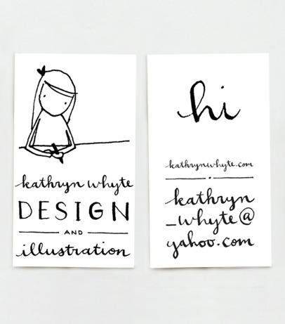 kathryn whyte stationery   simple pretty
