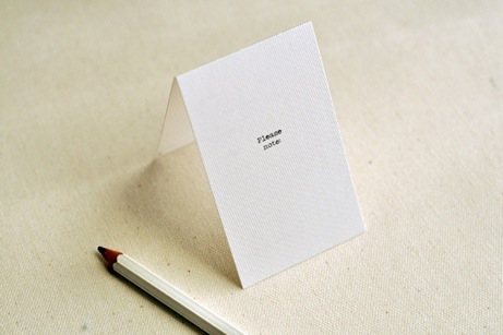 paper and type little notes | simple pretty