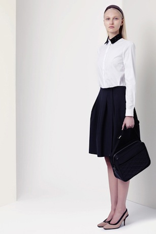 jil sander navy fall 2012, look 4 | simple pretty