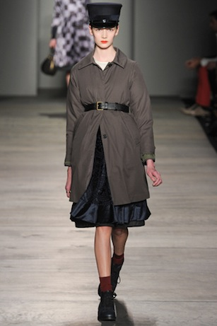 marc by marc jacobs fall 2012, look 25 | simple pretty