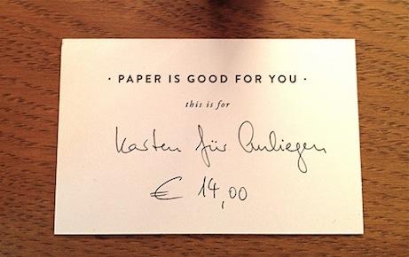 rsvp papier, berlin | simple pretty
