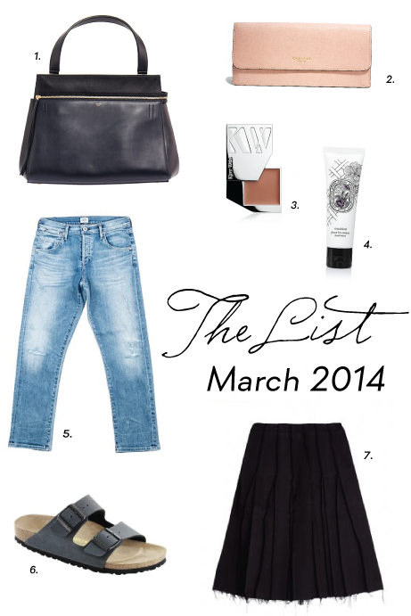 the list, march 2014 | simple pretty