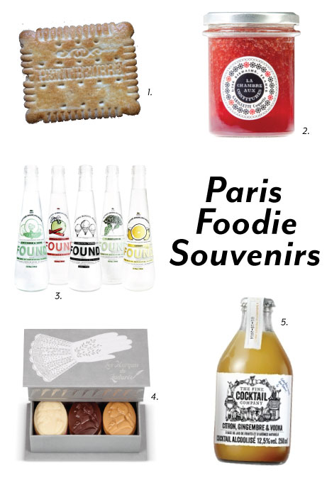 paris foodie souvenirs
