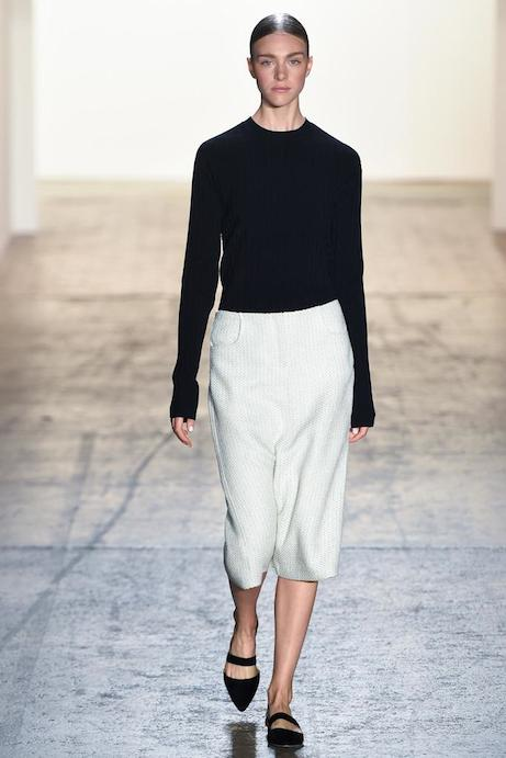 wes gordon spring 2015 | look 2 // simple pretty