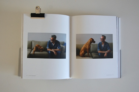 j.crew head of men's design, frank muytjens + his dog, dutch // faculty department | simple pretty