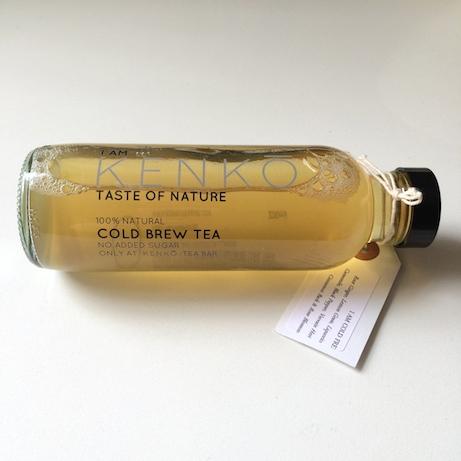kenkō cold-brewed tea packaging | simple pretty