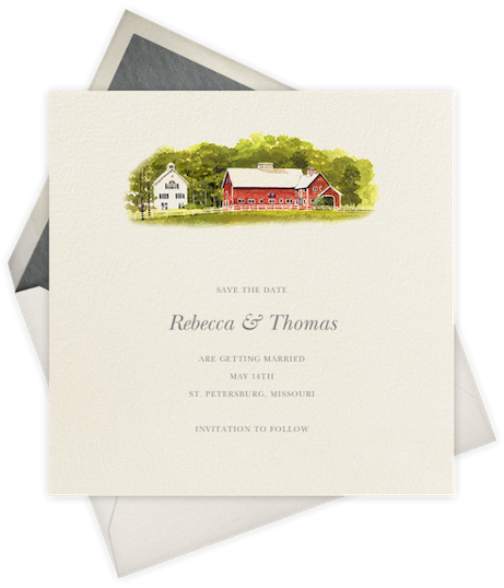 felix doolittle for paperless post, 'country barn' | simple pretty