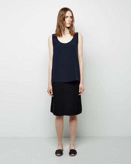 6397 knee-length skirt at la garçonne | simple pretty