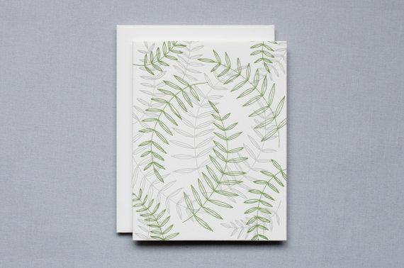 birdwalk press herbarium greeting card | simple pretty