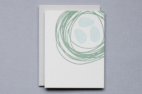 birdwalk press nested greeting card | simple pretty