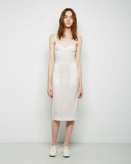 raquel allegra bustier dress at la garçonne | simple pretty
