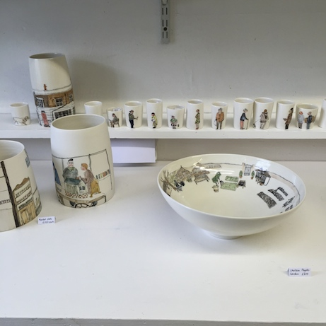 helen beard ceramics at craft central | simple pretty