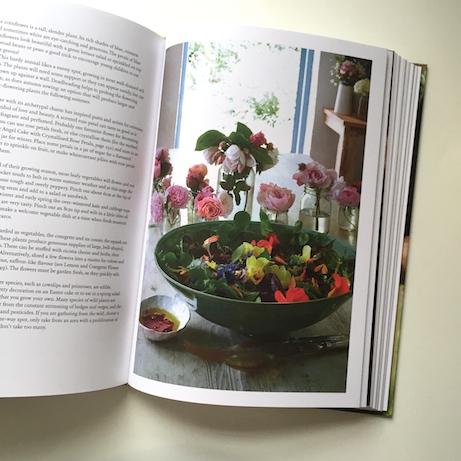 edible flowers: fern verrow cookbook   simple pretty