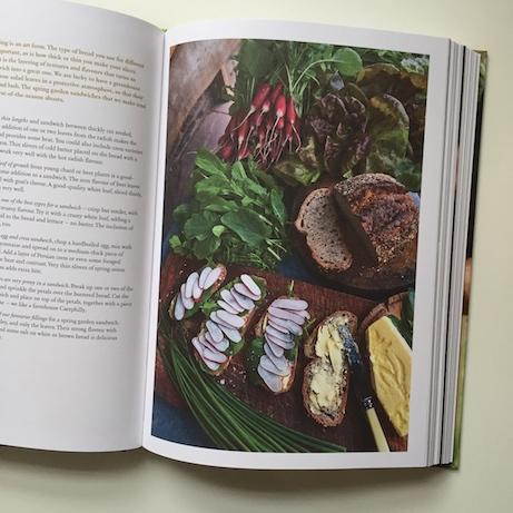 spring garden sandwiches: fern verrow cookbook   simple pretty