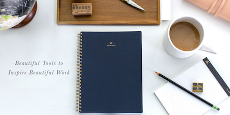 appointed notebooks + desktop supplies | simple pretty