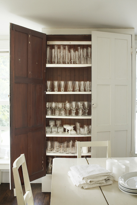 tricia foley life/style glassware cabinet | simple pretty
