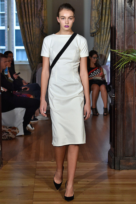 emilio de la morena spring 2016, look 1 | simple pretty