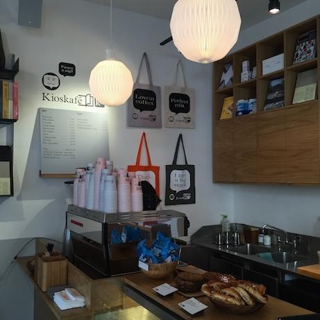 my london: monocle's kioskafé   simple pretty