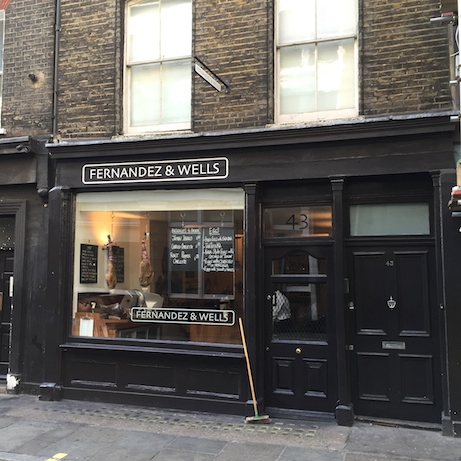 fernandez & wells, lexington street (london) | simple pretty