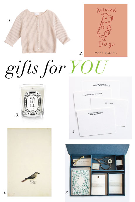 2015 gift guide: for you | simple pretty