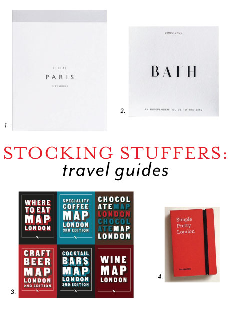 stocking stuffer ideas: travel guides | simple pretty