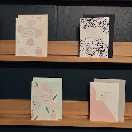 à l'aise greeting cards | simple pretty
