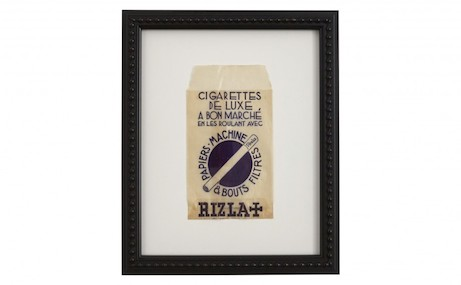 vintage french cigarette bag from jayson home 'flea' | simple pretty