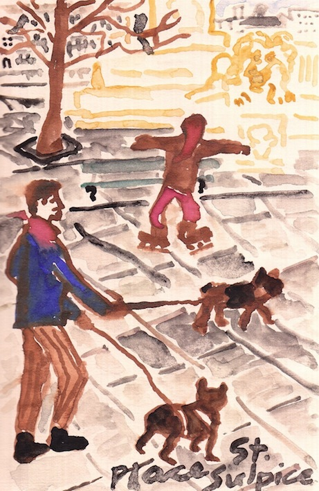'walking the dogs' by david coggins for paris in winter (powerhouse books) | simple pretty