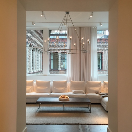 restoration hardware, 3 arts club building chicago | simple pretty