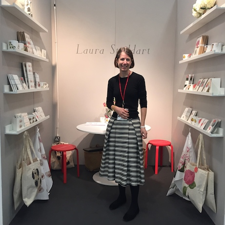 laura stoddart at top drawer london / january 2016
