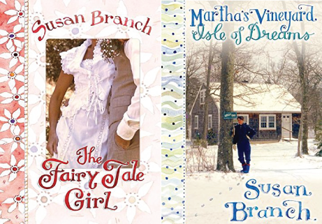 susan branch: the fairy tale girl and martha's vineyard, isle of dreams books | simple pretty