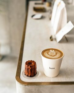 simple pretty: here kyoto canelés and coffee