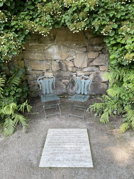garden area at the mount | simple pretty